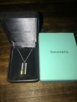 Tiffany 18k White Gold Diamond Necklace