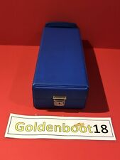 VINTAGE CASSETTE TAPE BLUE STORAGE BOX CASE NORTHERN SOUL