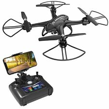 Drone con Camara, Luces LED, Compatible con Lentes VR, Telefonos iPhone Android!