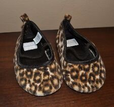 Koala Kids Soft Cheetah Leopard Animal Print Slip on Soft Shoes Size 18 Months