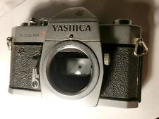 Yashica TL Electro X Vintage Film SLR Camera. Camera and meter works