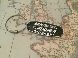 Land Rover Key Ring complete with box 70th Anniversary Defender Discovery