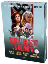 Secret Army - Series 3 NEW PAL Cult 4-DVD Set Bernard Hepton A. Richards