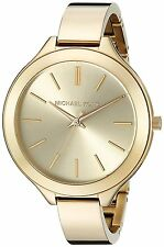 Michael Kors MK3275 Runway Champagne Dial Gold Tone Stainless Women's Watch