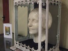"1900-1910 CASED DEATH MASK,SERENE & EXQUISITE""UNKNOWN LADY OF THE SEINE"""