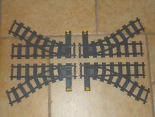 Lego® City Eisenbahn - RC - 4x Weichen (2x links, 2x rechts) aus 7895