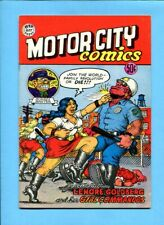 Motor City Comics #1 Rip Off Press Underground 1969 5th Print Robert Crumb