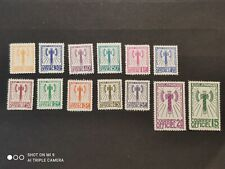 France:lot of 13 French stamps set of etat francais timbres depicting axes