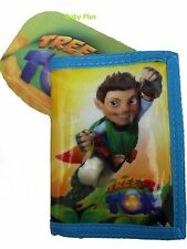 BRAND NEW OFFICIAL Tree Fu Tom Tri-Fold + Zipped Wallet