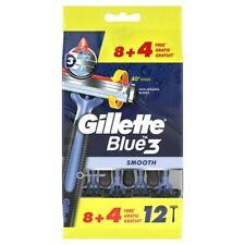 Gillette BLUE 3 Smooth razors 12 pieces bag