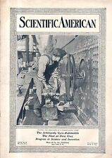 1914 Scientific American May 30 - Two-wheeled auto; US Navy at Vera Cruz; Willow