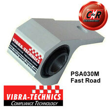 Peugeot 306 Vibra Technics FR LWR Arm RR Bush - Fast Road PSA030M