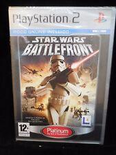 Star Wars Battlefront para play 2 nuevo y precintado