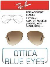 Lenti di Ricambio RAYBAN AVIATOR MODELS Replacement Lenses Ray Ban RB3025 51 BRO