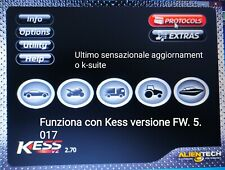 KESS KSUITE K-SUITE  2.70 ultimo aggiornamento stabile su KESS 5.017