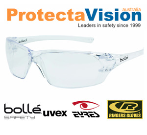 Bolle Safety Glasses - Prism - Clear Lens - Med Impact