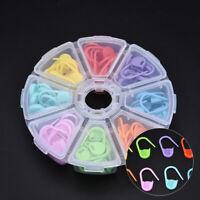 104Pcs Knitting Weave Crochet Locking Stitch Markers Holder Needle Clip Craft