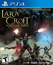 PLAYSTATION 4 PS4 GAME LARA CROFT AND THE TEMPLE OF OSIRIS NEW AND SEALED