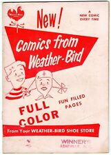 WEATHER BIRD SHOE Playful Little Audrey #2 1957 HARVEY Winner's Asheville NC
