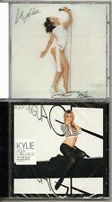 KYLIE CD's STILL SEALED   FEVER & BODY LANGUAGE