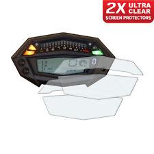 2 x panel de Kawasaki Z1000 2015+ protector de pantalla: Ultra Claro