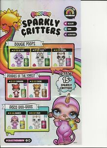 POOPSIE Sparkly Critters-Drop 1 Figures- Spits or Poops Slime-YOU PICK!  NEW