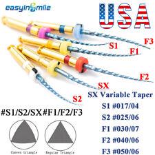 X Pro Taper Endodontic Niti Engine Files Dental Flexible Endo Rotary Files 25mm