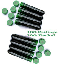 100 Petlinge with Lid and Geocaching Logo Preform Geocache Container Waterproof