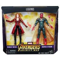 "Marvel Legends 6"" MCU Vision + Scarlet Witch 2 Pack Avengers Infinity War New"