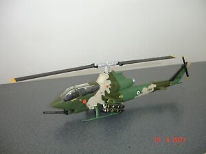 Imperial Iranian Army Aviation AH-1 Cobra diecast Code 3 Attack Helicopter Iran