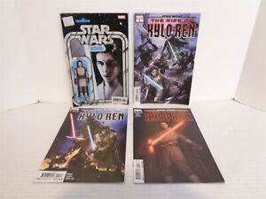 2020 Marvel Star Wars the Rise of Kylo Ren #1-4 Complete 4 Comic Book Series