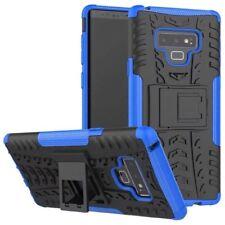 Pour Samsung Galaxy Note 9 N960F Etui Hybride 2 Pièces Extérieur Bleu Housse