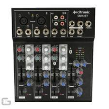 Mezcladores analógico para DJ y espectáculos 4 canales