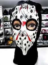 Beanie Full Face Bloody Jason face mask Ski Mask costume halloween attire-New!