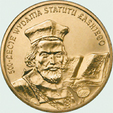 Poland / Polen - 2zl 500th Anniversary of Proclamation of the Jan Łaski's Statut
