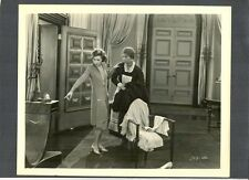 BEAUTIFUL GRETA GARBO WITH A MAID IN A MANSION - SCREEN ICON + SEX SYMBOL
