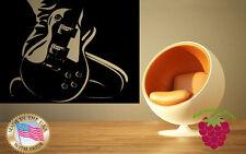 Wall Stickers Vinyl Decal  Guitar Rock Music Rock&Roll Musician z647