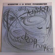 """33T INTRODUCTION A LA DETENTE PSYCHOSOMATIQUE Disque LP 12"""" GABAI JOST BRUUN"""