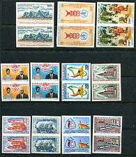 Group MNH Malagasy Imperf Pairs (Lot #b78)