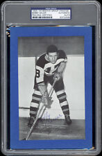1934-44 Beehive Bobby Bauer (Boston Bruins) Autographed/Signed RARE -- PSA/DNA