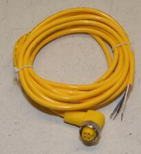 Turck WKM40-4M mini fast 4 Pin Power Entry Cable Female  18AWG/4 NEW