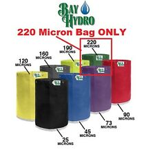 BAY HYDRO 5 Gallon 220m Micron Replacement Bubble ICE Extraction Bag QUALITY $$