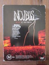 INCUBUS Alive at Red Rocks DVD and CD