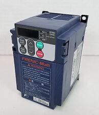 Fuji FRENIC-Multi FRN0.2E1S-2J Inverter 200-240V, 3Ø, 0.1~400Hz Output - Working