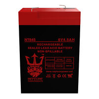 Peg Perego IAKB0509 6V 4.5Ah SLA Replacement Ride-On Toy Battery by Neptune