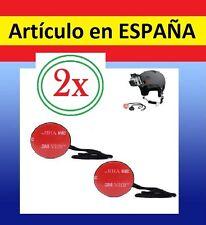 2xSoporte SEGURIDAD antiCAIDA Camara GOPRO HERO 1 2 3+ 4accesorio cinta pegatina