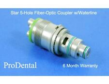Star Brand 5-Hole Fiber-Optic Dental Handpiece Coupler w/Waterline  - ProDental