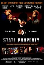 STATE PROPERTY Movie POSTER 27x40 Beanie Sigel Omillio Sparks Memphis Bleek