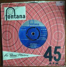 RIKKI PRICE,Tom Dooley/Cherry Blossom Lane. UK 45 Fontana.3 singles for £2 post