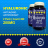 2pk =360 Cap  Hyaluronic Acid 200mg Per Serve Size  -Quality-Purity USA Facility